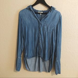 Cloth & stone chambray button up